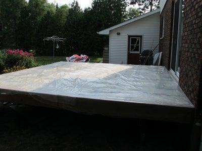 Floor Vapor Barrier