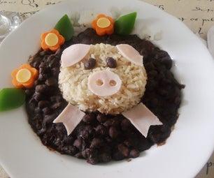 Piggy in a Mud Bath