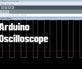 Arduino - Oscilloscope (poor Man's Oscilloscope)