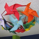 Easy Breezy Pinwheel Light