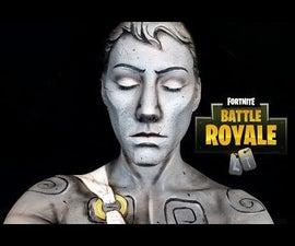 Fortnite雕像万圣节化妆