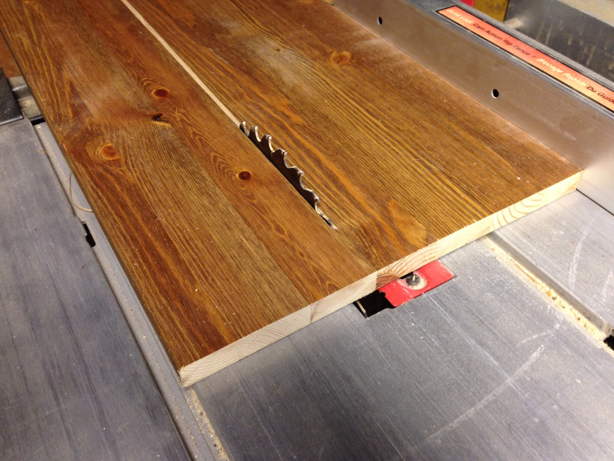 Picture of Measuring and Cutting the Board