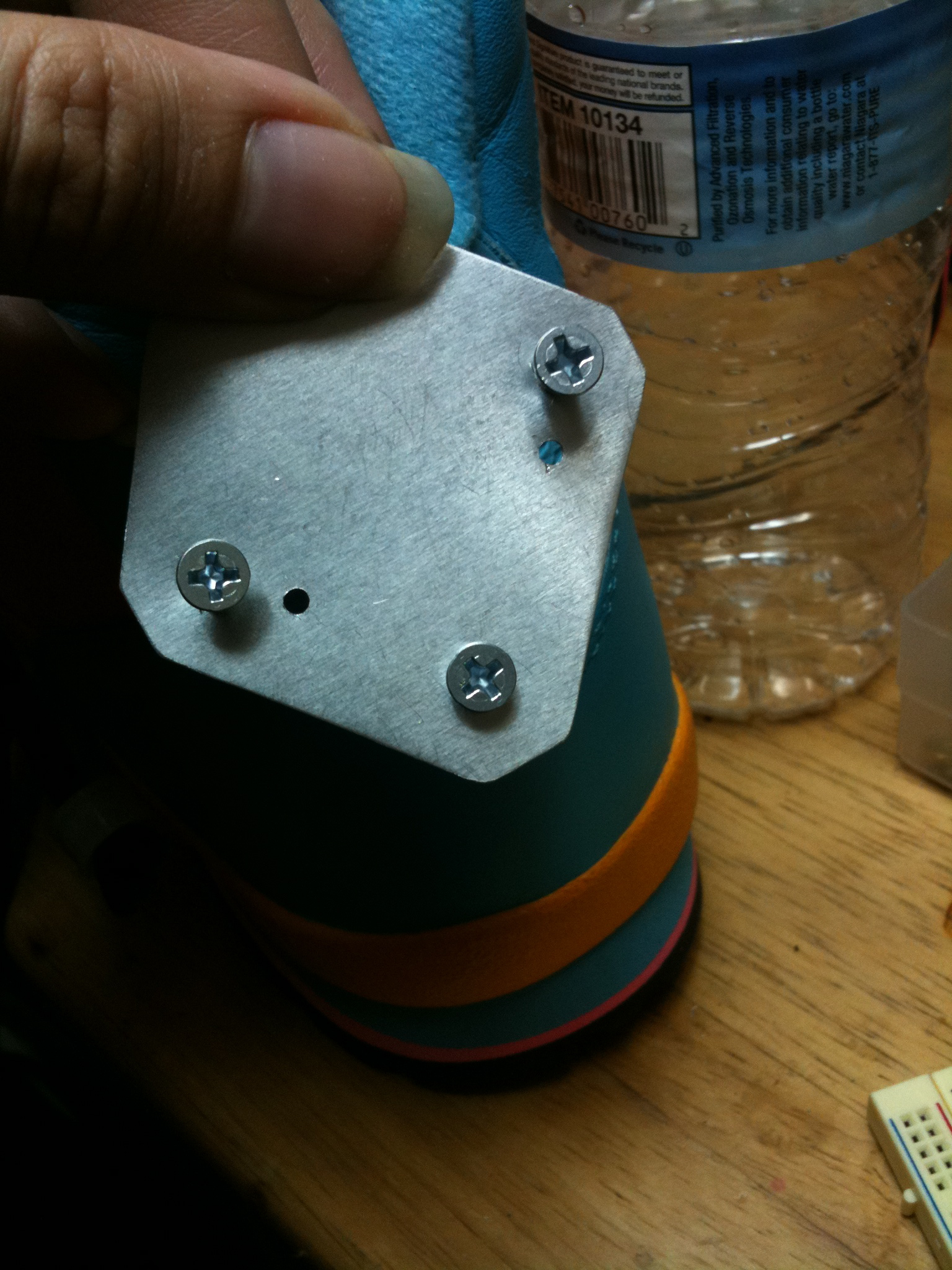 Picture of Servo Mounting Plate