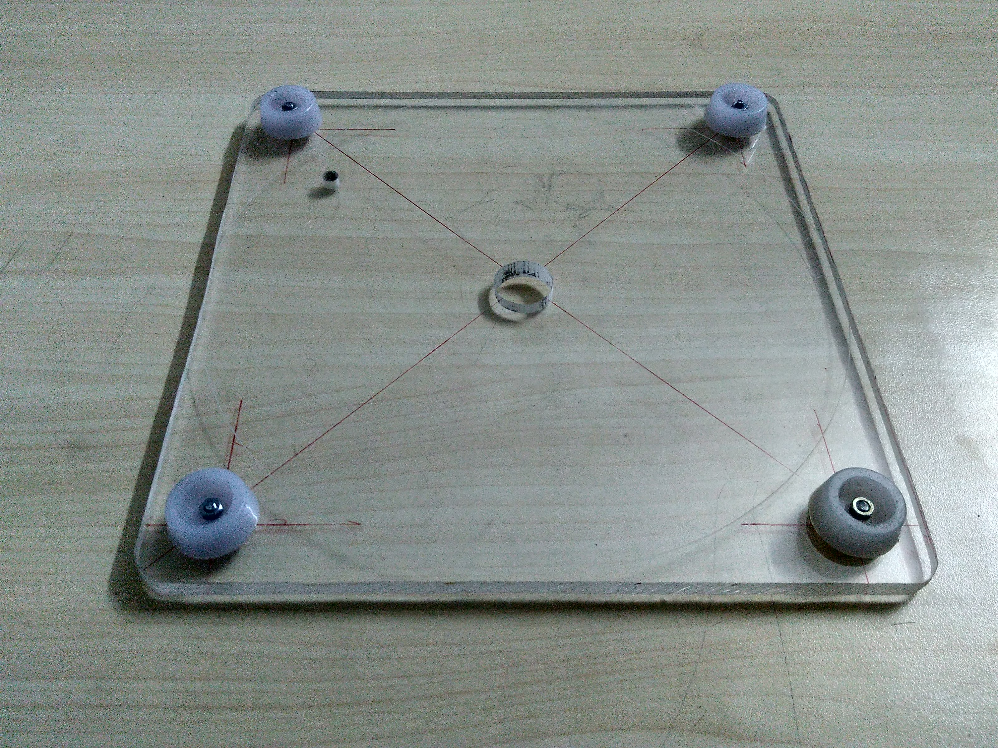 Picture of Creating the Base of Our Tripod.