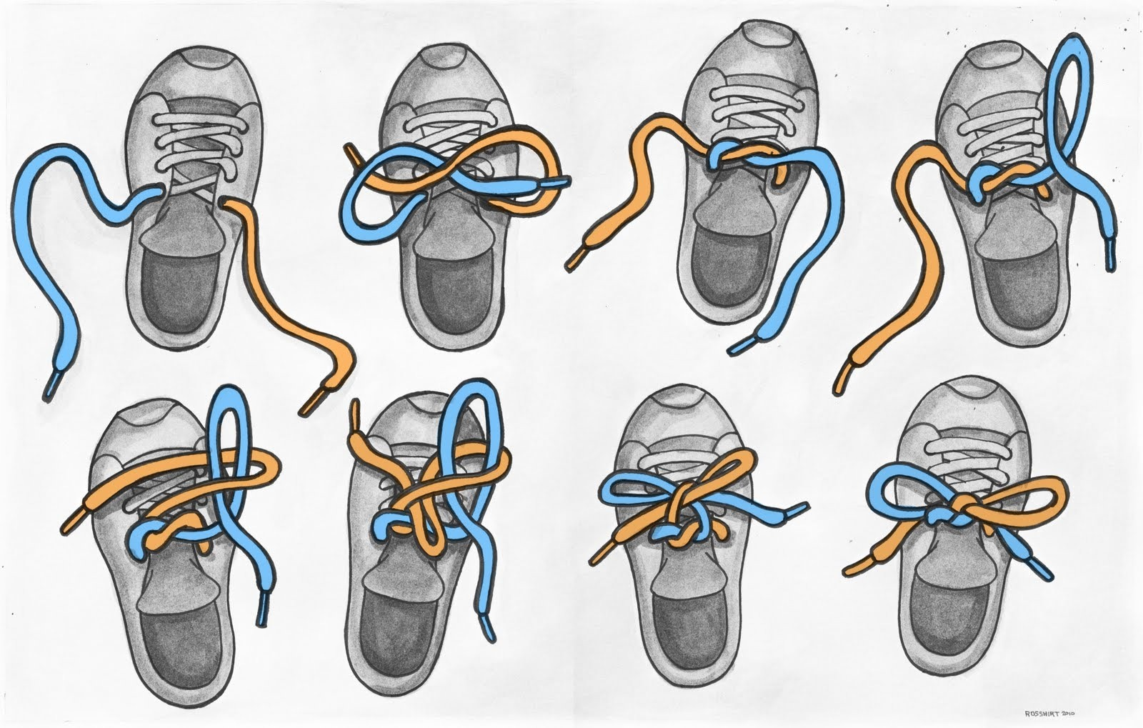 How to Tie Your Shoe: 7 Steps