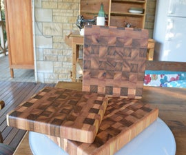 End Grain Cutting Board / Butcher Block