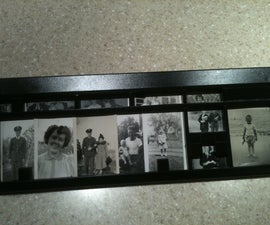 Picture Frame from old Keyboard