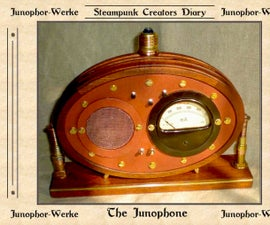 "Steampunked Mp3-player ""Junophon"""