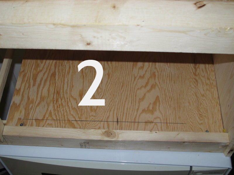 Picture of Holes for Shelving Pins