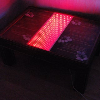 Infinity Mirror Table - the Easy Version