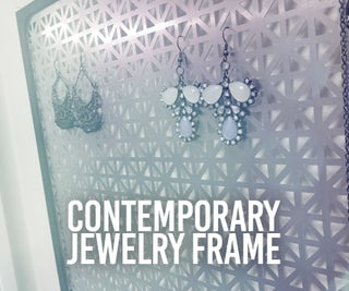 Contemporary Jewelry Holder