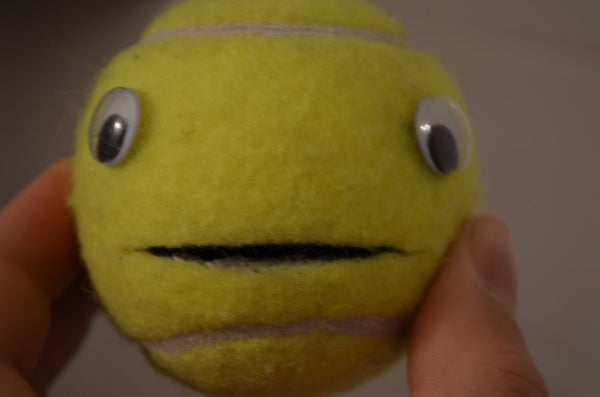 Cool Tennis Ball Mouth