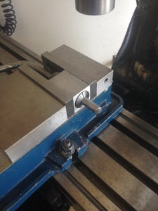 Vise Don't Have to Be Straight on the Table.