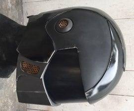 Custom Scifi Robot Helmet