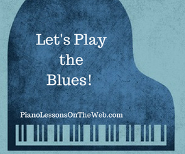 How to Play the Blues Scale on the Piano