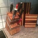 Knives holder block
