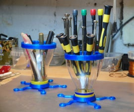 Tools Organizer - Made with 3d Parts and OJ Funnels
