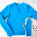 Make Mittens from Old Sweaters DIY