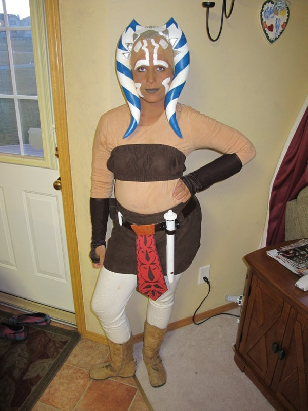 Ahsoka Tano Costume From Star Wars, the Clone Wars