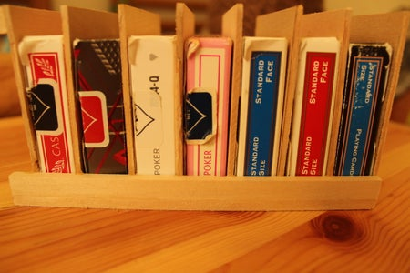 Playing Card Case Rack