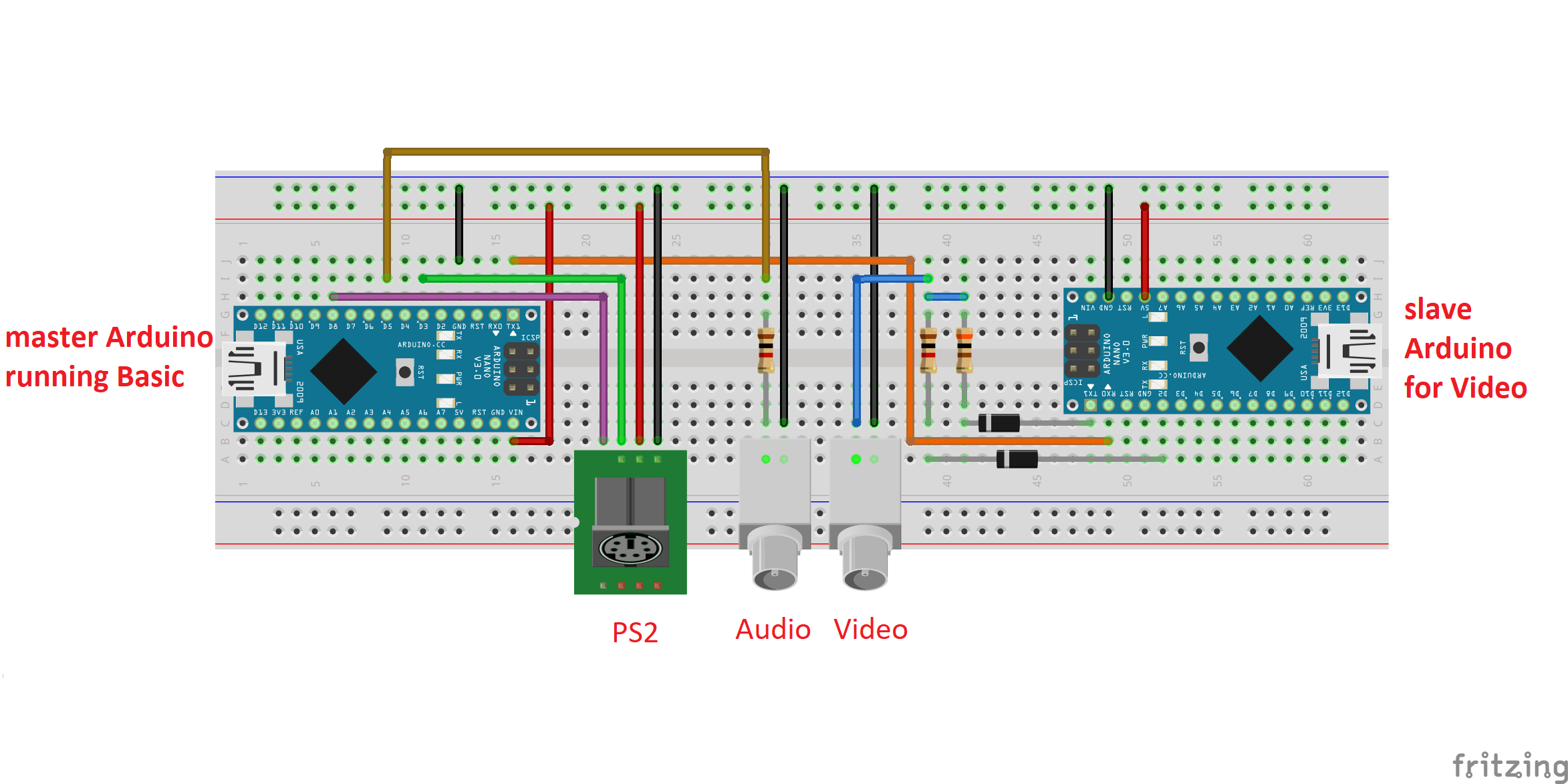 Picture of Upload the MRETV Library on the Second Arduino and Put Everything Together