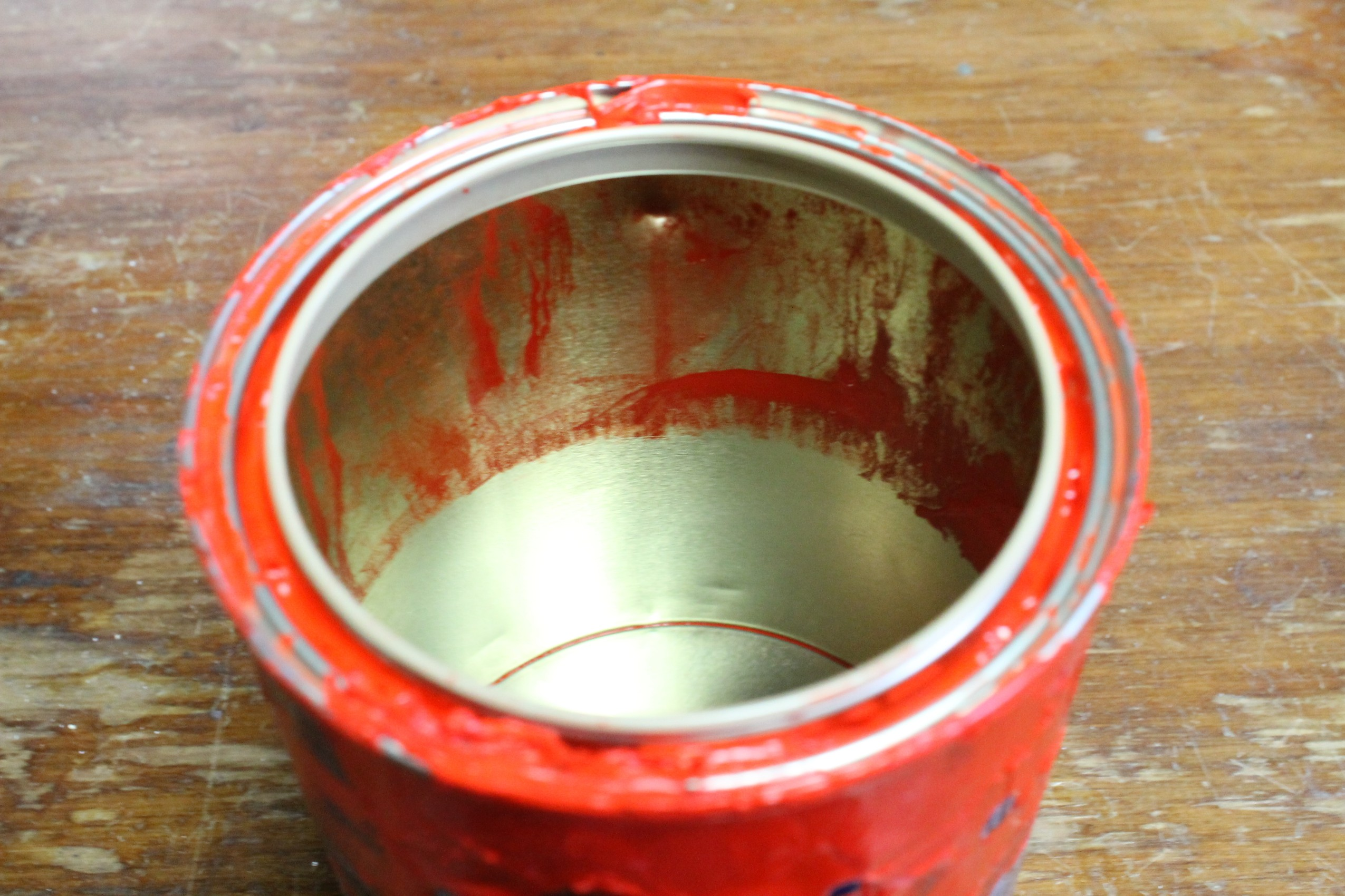 Picture of Cleaning the Can