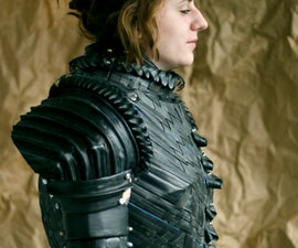 Rubberized Armor for Joan of Arc
