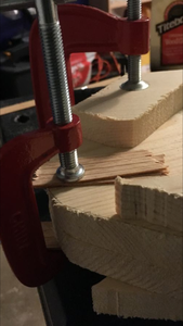 Clamping the Pieces