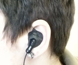 Custom fit earbuds with Sugru