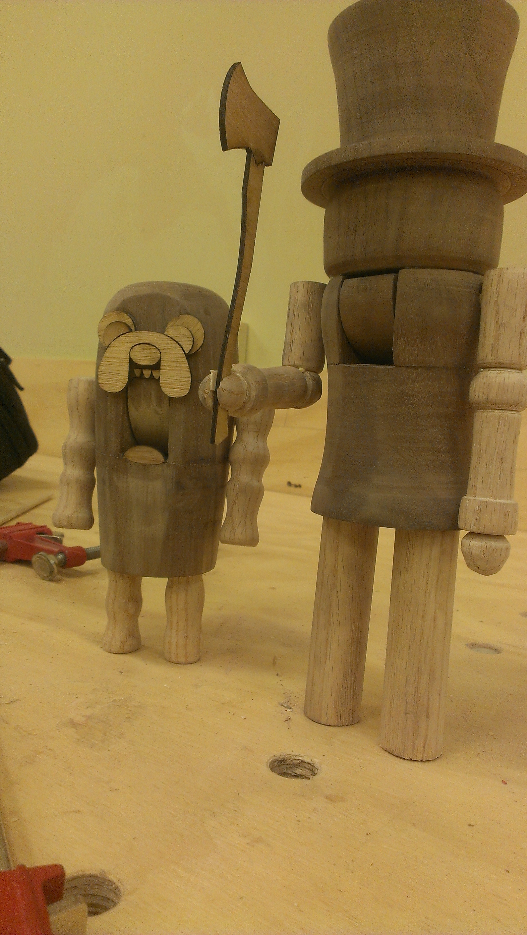 turning wooden nutcrackers from blanks: 5 steps (with pictures)