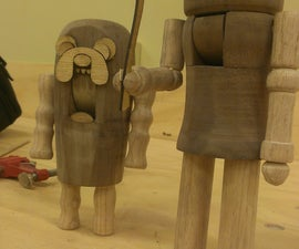 Turning Wooden Nutcrackers From Blanks