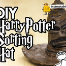 DIY Harry Potter Sorting Hat With Modelling Clay
