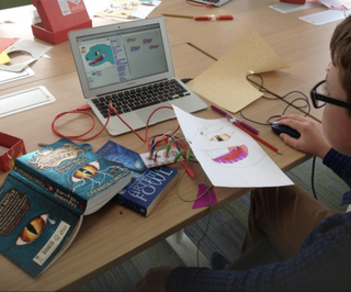 Interactive Book Cover Art With Makey Makey