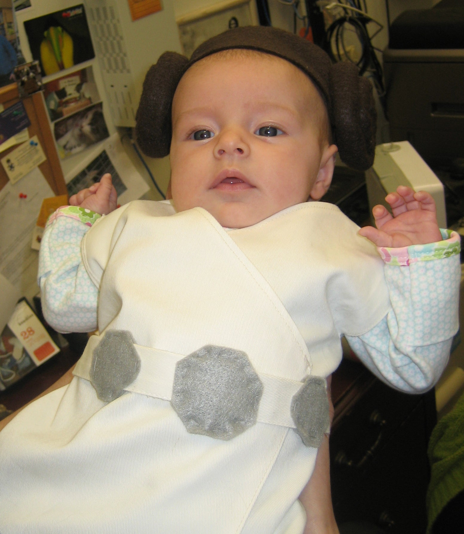 Baby Princess Leia Costume 11 Steps With Pictures Instructables