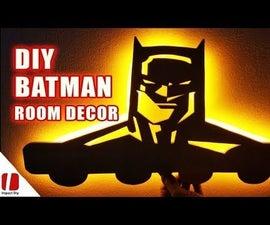 Diy Batman Room Decor - How to Make Batman Hanger With Limited Tools