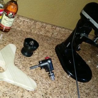 Coffee Burr Grinder Attachment for KitchenAid Mixer