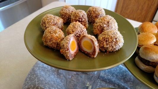Quail Egg Brunch Bites