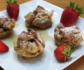 French Toast Bites/Muffins