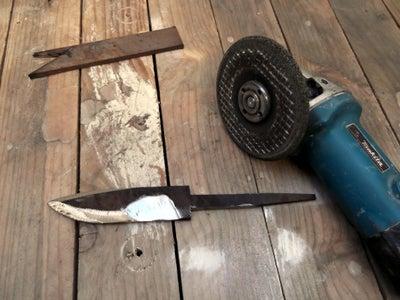Preparing the Blade