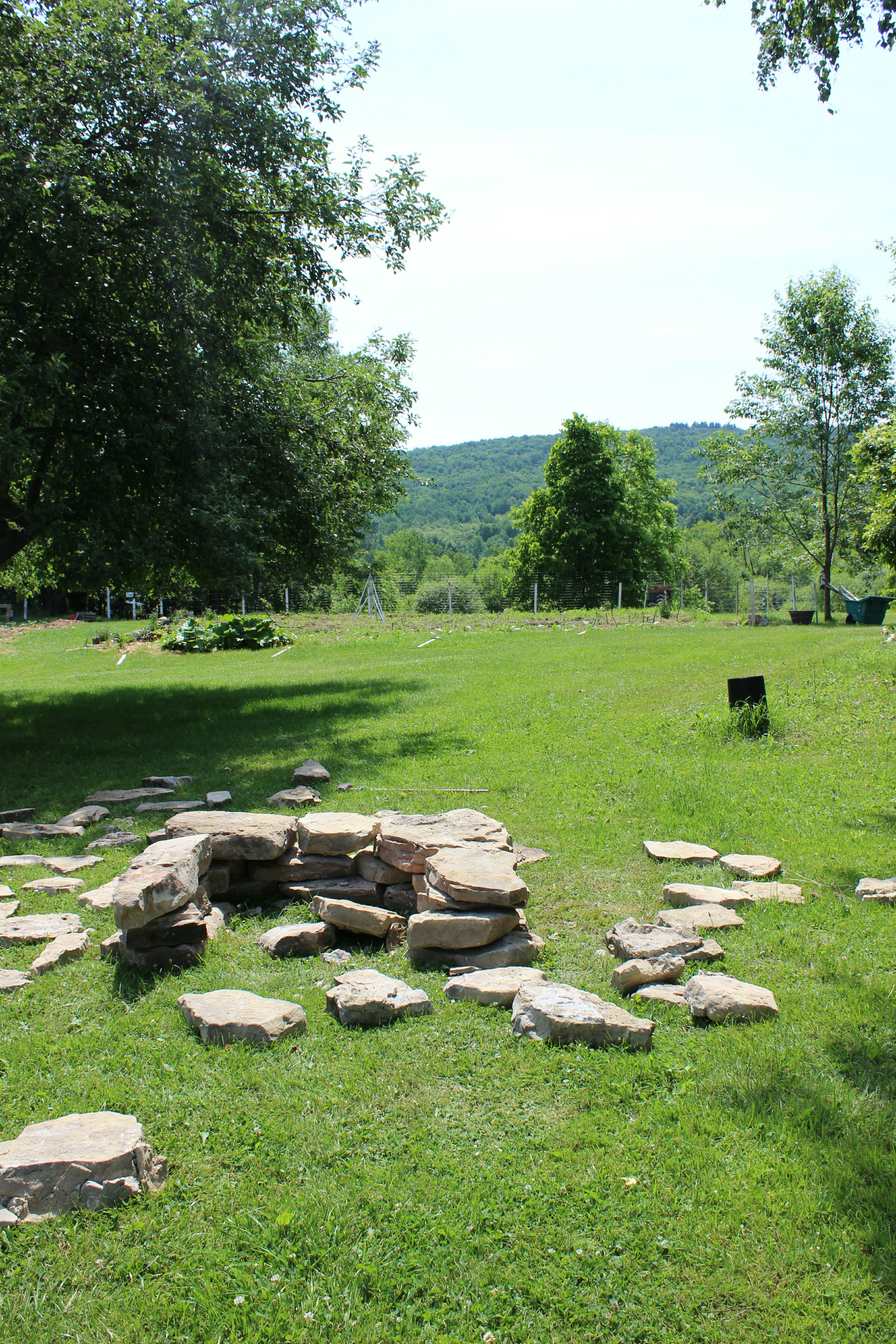 Picture of Placing the Stones