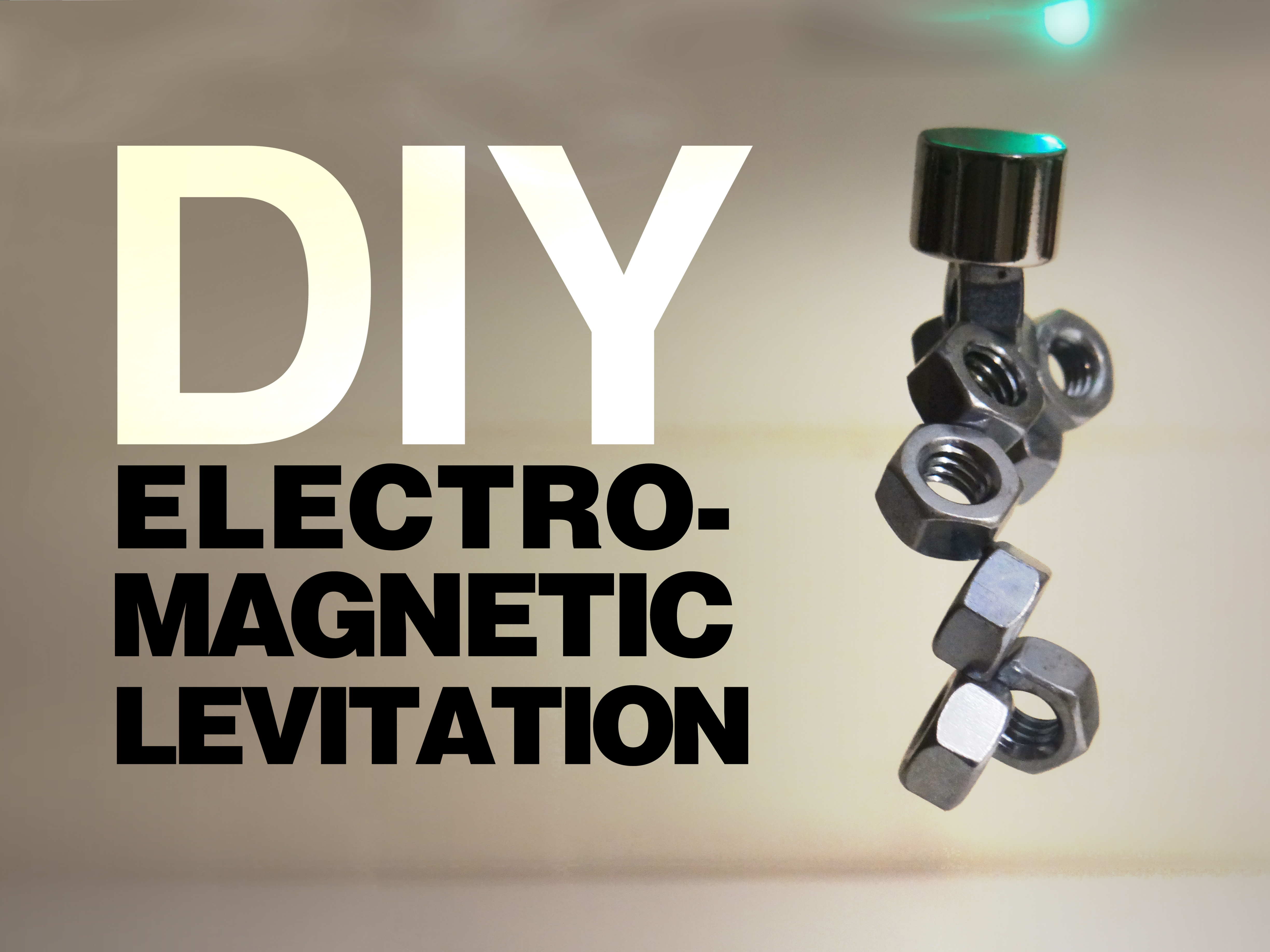Picture of DIY Electro-Magnetic Levitation!