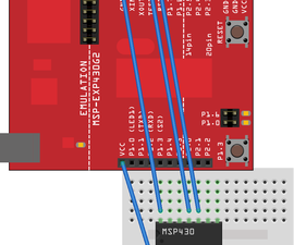 EASY MSP430 LaunchPad ISP with only 4 wires!!!