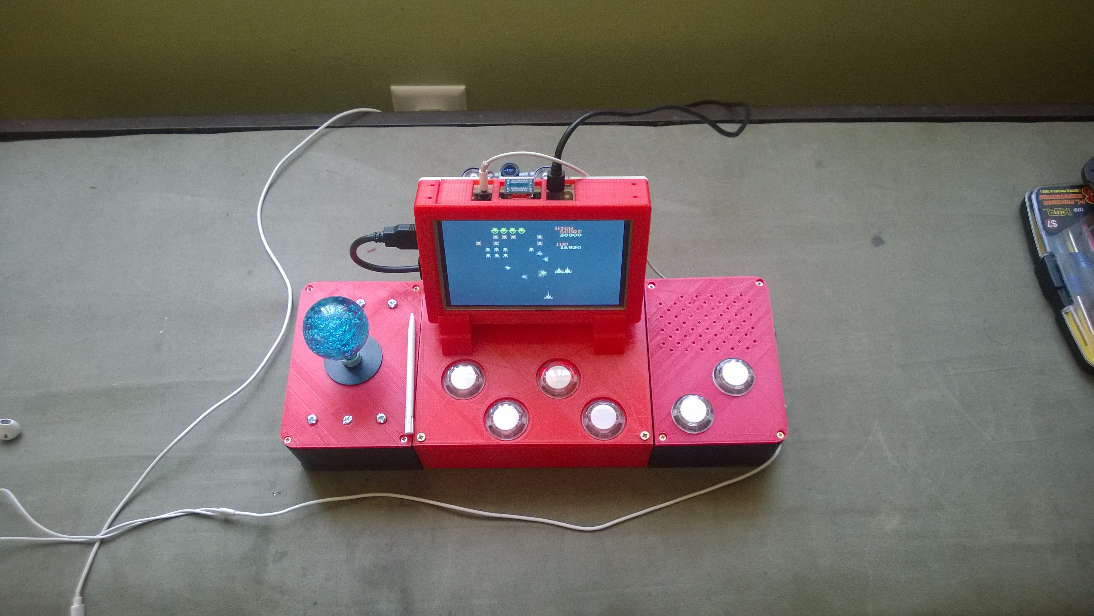 Picture of The Arcade Joystick in Action