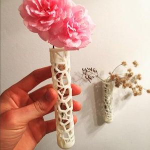 Super Cool 3D Printed Test Tube Vase!