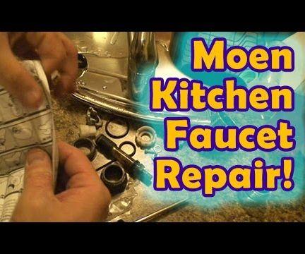 leaky moen kitchen faucet repair 8 steps rh instructables com moen arbor kitchen faucet leaking moen arbor kitchen faucet leaking