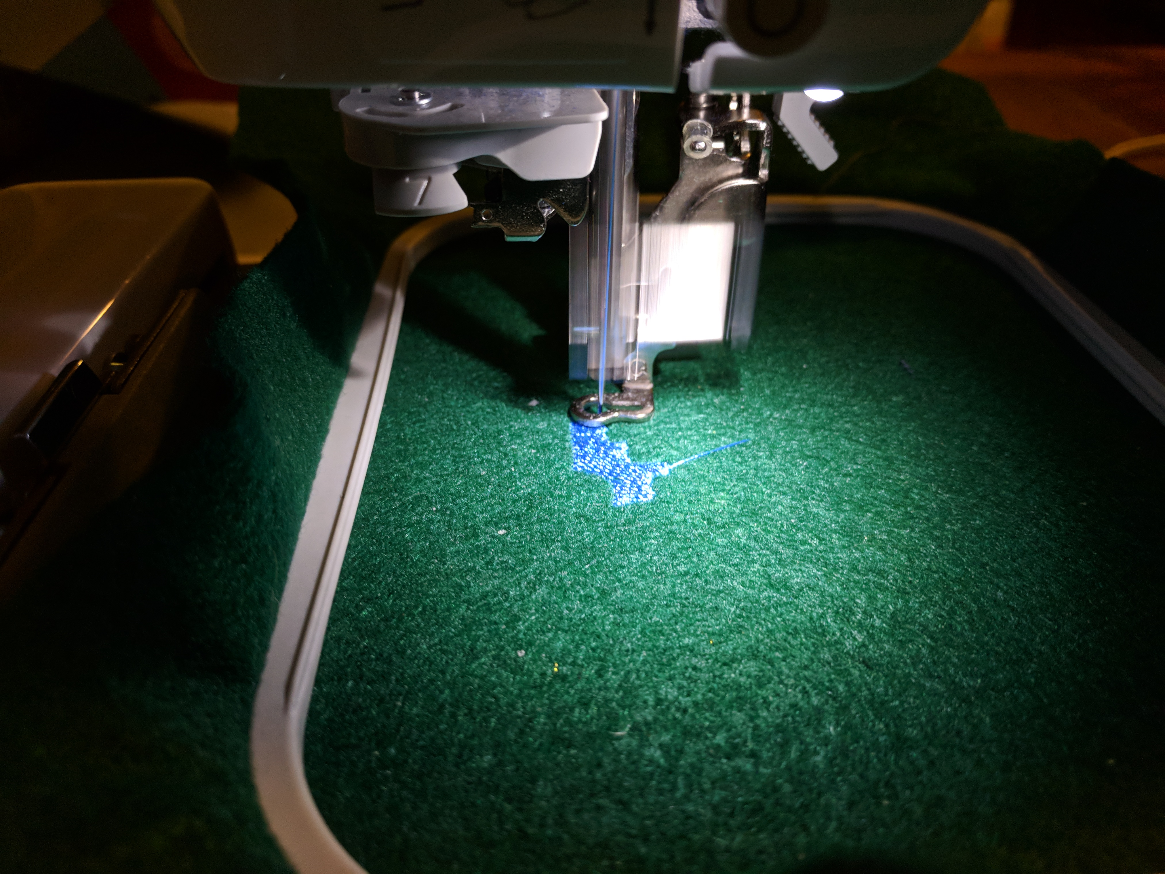 Picture of Embroidering