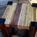 Scrap Wood Side Tables