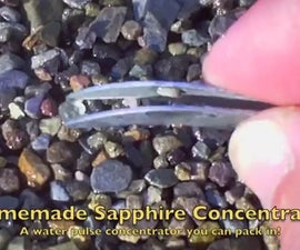 Portable Water Pulse Sapphire Concentrator