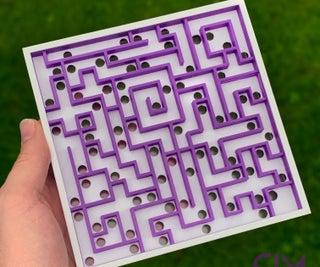 Three Dimensional Maze