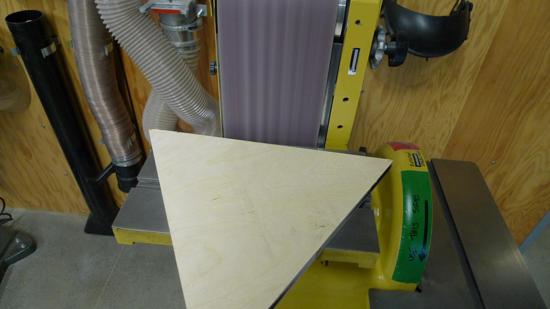 Picture of Sanding Laser-Burnt Edges Off